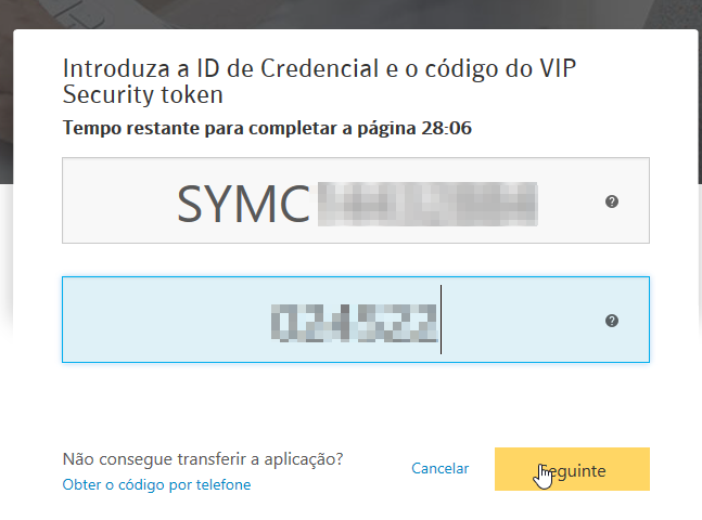 Norton Identity safe vip token