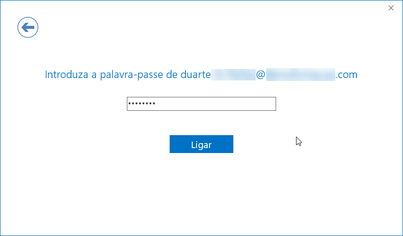Outlook office 365 ptempresas introduza palavra passe